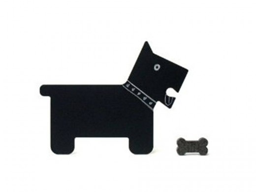 Scotty (Dog Shaped Chalkboard with eraser), by FUZ