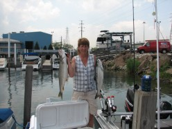 Salmon Fishing Is Hot Weather Fun For Fishing Chicks From Indiana