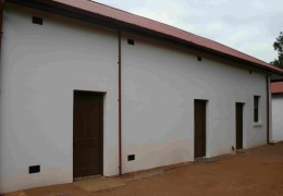 Various activities were conducted in this outbuilding, which included a butchery
