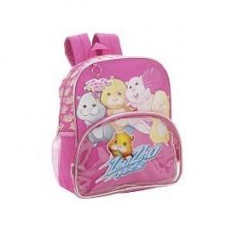 "Zhu Zhu Pets Friends 14"" Backpack School Bag"