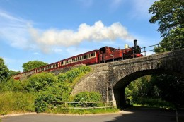 The Isle of Man Railway - come and travel on an original Victorian steam railway and ride back in time.  David Lloyd-Jones 2010
