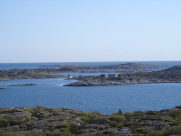 Rocky coast of Bohus, near Gothenburg