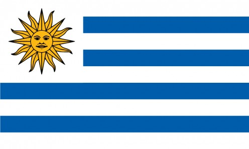 National flag of Uruguay