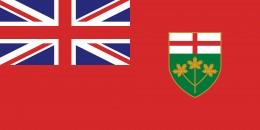 Ontario provincial flag