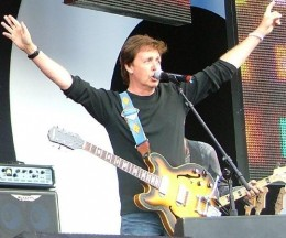Paul McCartney is a Meatless Monday supporter