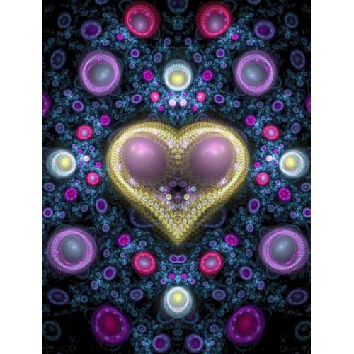 Heart of Bubbles Fractal