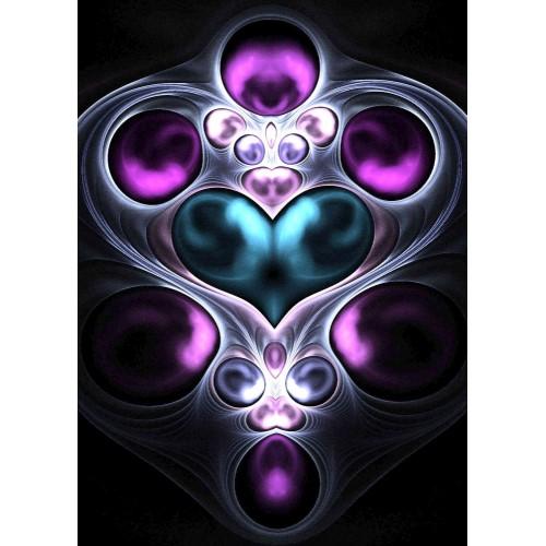 Gem Stone Heart Fractal