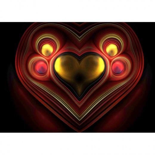 Phoenix Heart Fractal