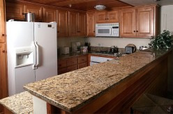 If One Thing That You Want to do about Your Kitchen... I Say Get a Granite Counter Top if you don't already have one!