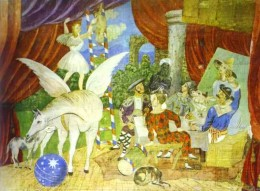 the set for Parade by Pablo Picasso