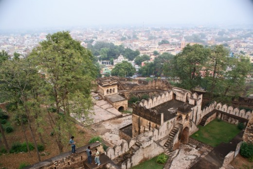 View from Jhansi fort