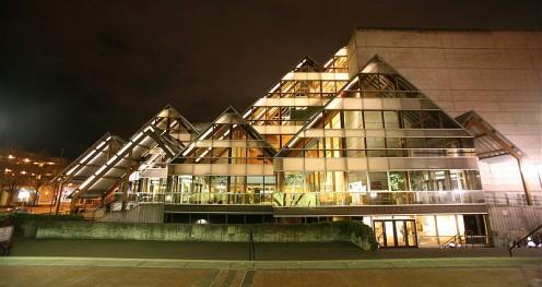Annual Bach Festival venue.