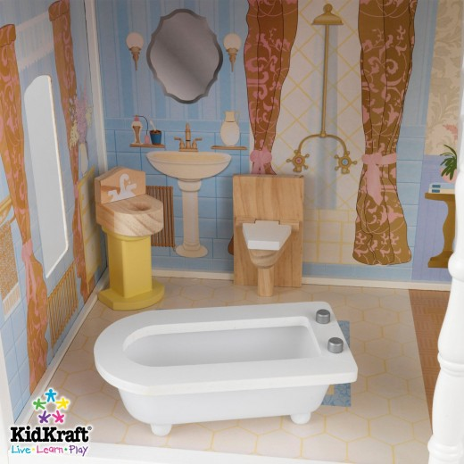 65023 KidKraft Dollhouse bathroom.