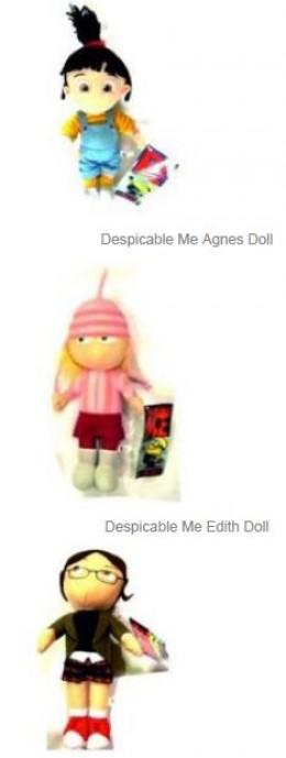 Despicable Me Plush Dolls