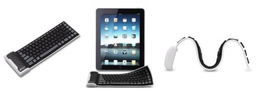 an iPad keyboard
