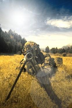 Poem: The Sniper
