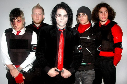 The latest band accused of promoting suicide; My Chemical Romance.