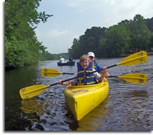 Camping, Boating, Hiking = Fun!!!