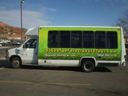 Green Bus to Tour Foreclosures