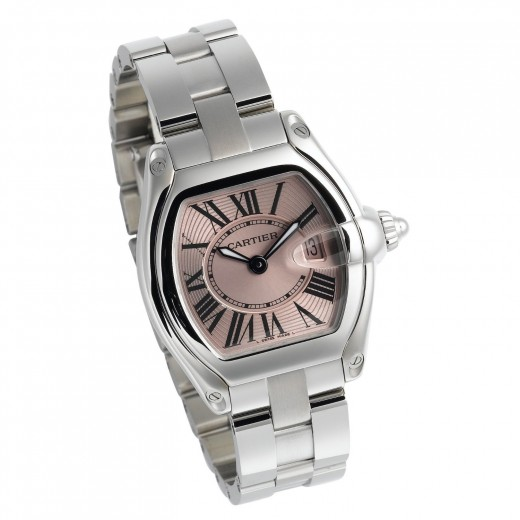 Pink Pasha by Luxury Watchmaker Cartier.