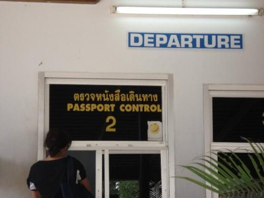 Leaving Thailand
