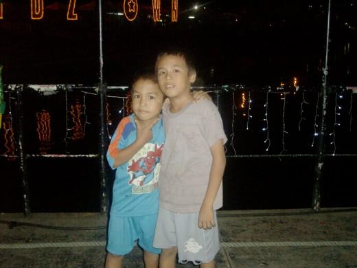 Kids at the Bridge...