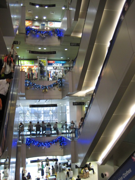 Inside Platinum Fashion Mall