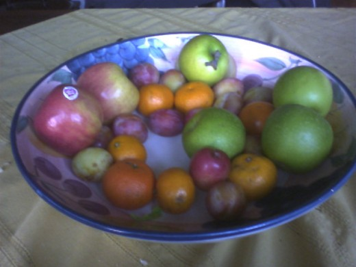 Abundant Fruit Bowl