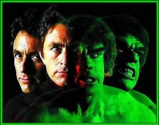 Bill Bixby, Lou Ferrigno, The Incredible Hulk