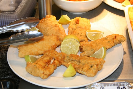 Fried fish recipe with batter for Fish fry breading