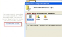 Create New Data Source (Wizard)