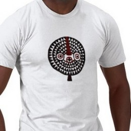 African Mask Art T-shirts by Injete at Zazzle.com