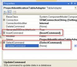 TableAdapter CRUD Properties