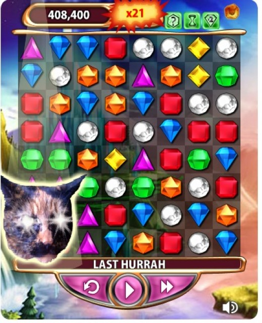 Cost: 25000 Rare Cat Eye Gem, give you bonus score after your game finished
