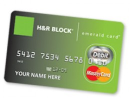 block does emerald card advance line of credit h r block does
