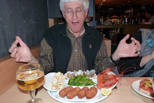 I am trying out a tapas dinner for the first time.