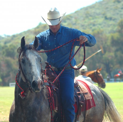 Horseback riding is a great weekend activity.