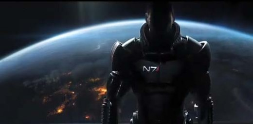 Mass Effect 3 Earth Under Attack