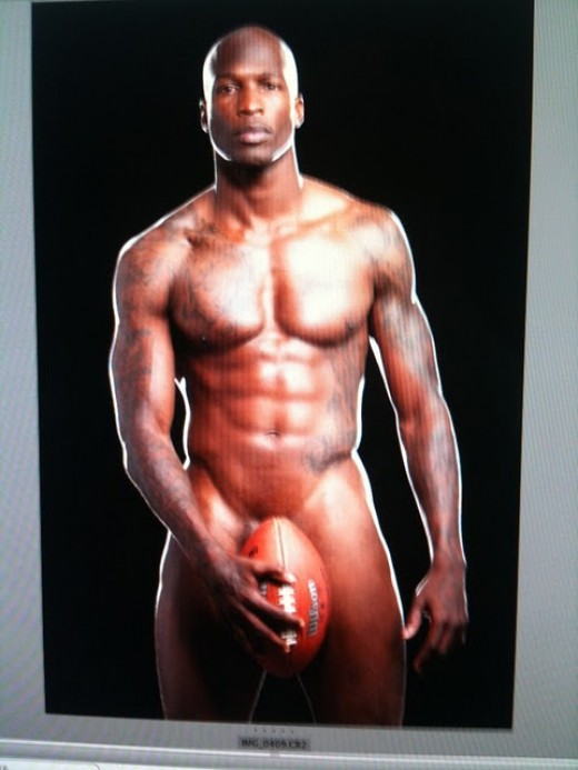 "Chad Ochocinco Shows Off His Special ""Ball"""