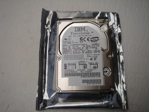 30 GB hard drive