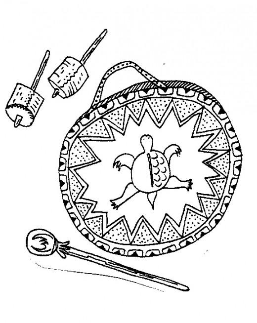 Moccasin Dance Drum