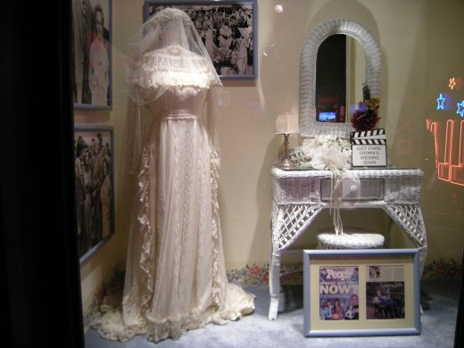 Lucy's actual wedding dress