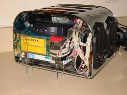 Brand new (?) but broken toaster