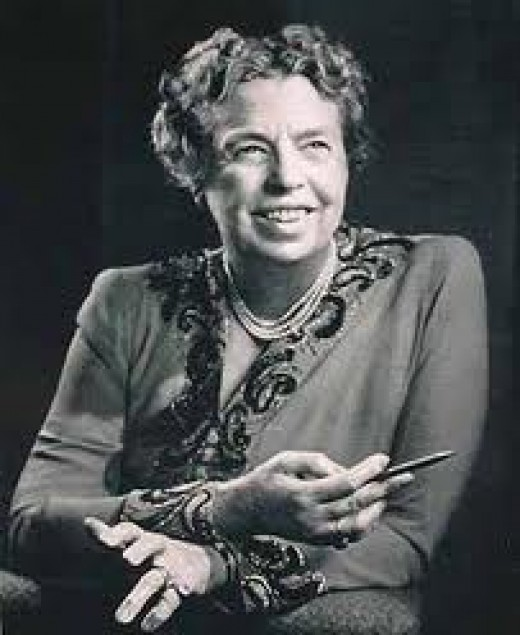 Eleanor Roosevelt 1884 - 1962 Former First Lady