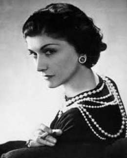 Coco Chanel 1883 - 1971 Fashion designer
