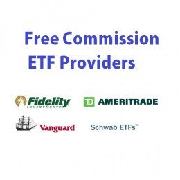 ... etf providers have provided free commission etfs trading option since