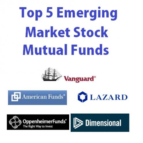 emerging markets stock mutual fund logo