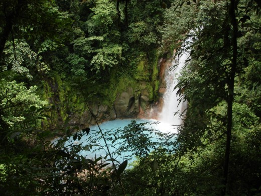 A hike along the Rio Celeste is a great day trip if you are staying near Arenal.  Reserve about 2 hours for the hike in and an hour or so for getting back.  There are hot springs in the river at the end of the trail for resting.
