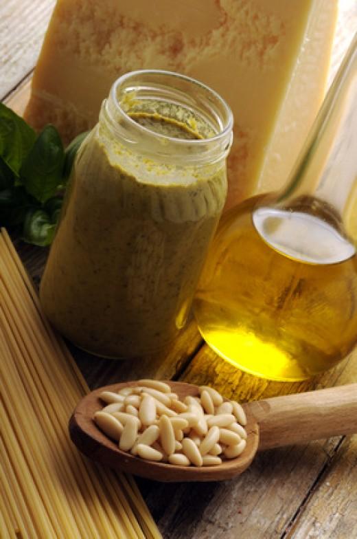 Parmigiano-Reggiano is an essential ingredient for pesto. Image:  Comugnero Silvana - Fotolia.com