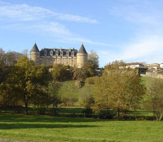 Rochechouart is ten minutes away by car. The castle is now a centre for contemporary art
